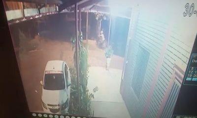 Hurtan motocicleta con chapa argentina del estacionamiento de un departamento – Diario TNPRESS