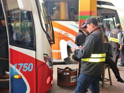 Dinatrán: Transporte de larga distancia volverá a operar el 18 de mayo