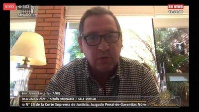 Cámara de Senadores: No se reunieron los votos para desaforar a Zacarías Irún
