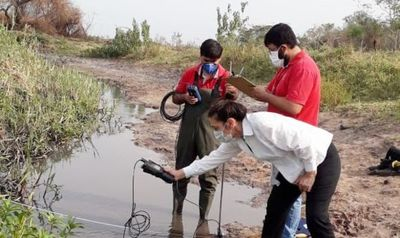 Continúan trabajos de medición del cauce del lago Ypacaraí