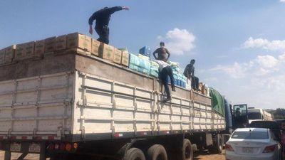 UIC incauta toneladas de mercaderías en dos procedimientos en zona Remanso