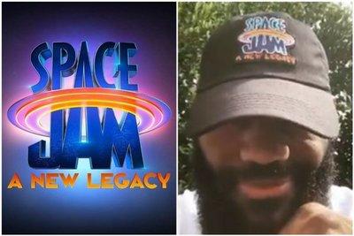 "Lebron James revela detalles del nuevo ""Space Jam"""