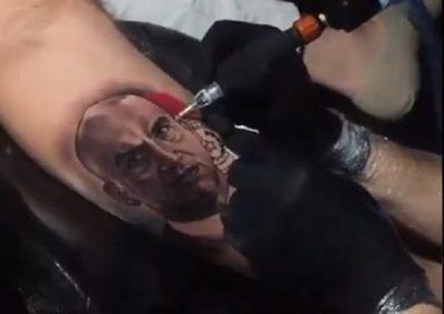 Mazzoleni inspira un tatuaje