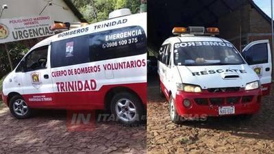 BOMBEROS DE TRINIDAD ANUNCIAN COLECTA PARA REPARACIÓN DE MÓVIL.