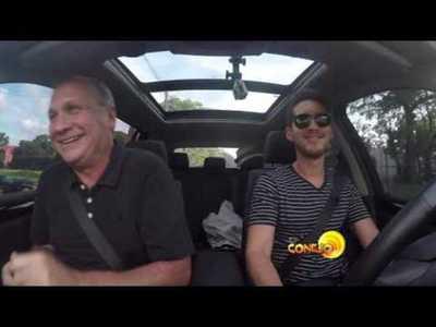 Mario Ferreiro y Ruben Rubin en el Carpool