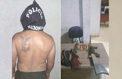 Polis detienen a un supuesto degenerado