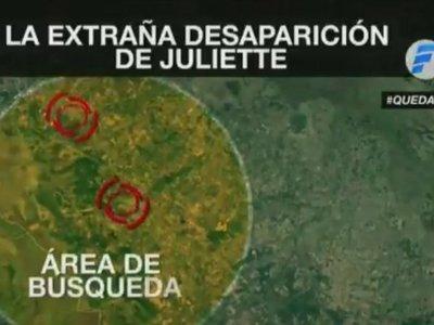 Intenso rastrillaje en busca de la pequeña Juliette