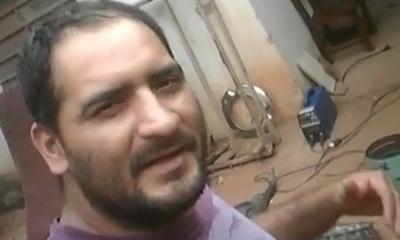 El saludo en guaraní de Naldy a los trabajadores en su día