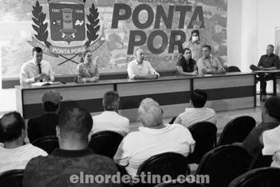 Municipalidad de Ponta Porã flexibiliza el funcionamiento de los comercios cumpliendo los protocolos de seguridad sanitaria