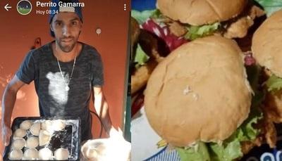 """Futbolista ahora vive de minutas para el """"tereré rupa"""""""