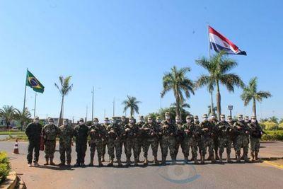 Coronavirus: Fuerzas Armadas despliega 60 hombres para custodiar la frontera Pedro Juan
