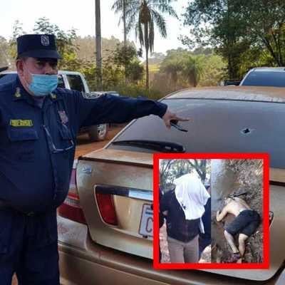 Un delincuente abatido y dos aprehendidos tras balacera con policías