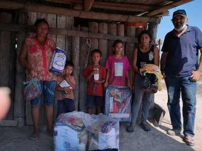 Ganaderos de ARP asistieron a familias vulnerables en Alto Paraguay