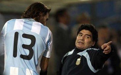 Maradona nunca pudo con Paraguay