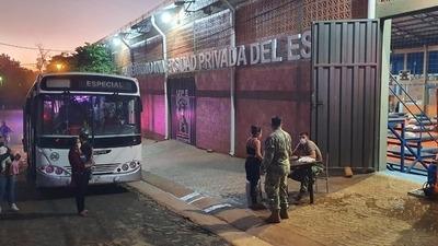 Covid-19: Albergado se fugó del Polideportivo de la UPE