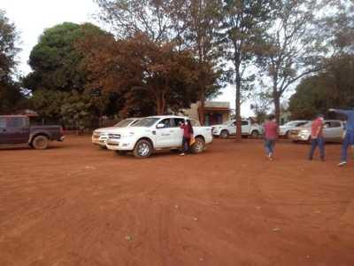 Itaipu politiza entrega de víveres en Mbaracayú