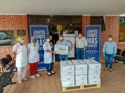 Concepción: IPS recibe donación de 700 Kg. de carne