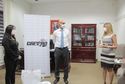 Cappro realiza donaciones al Ministerio de Salud en la lucha contra el COVID-19