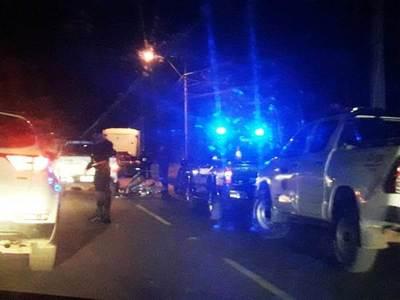 Fatal accidente al costado del Aeropuerto • Luque Noticias