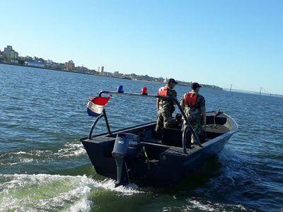 Armada refuerza los controles en toda la frontera con Argentina