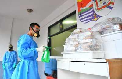 Itaipú entrega diariamiente casi 2 mil platos de alimentos a viajeros que cumplen cuarentena en albergues