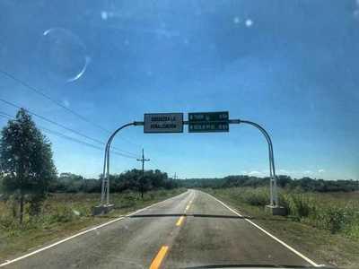 El nuevo asfaltado en Torín