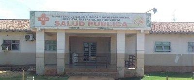 Hospital distrital de Horqueta se divide en dos áreas