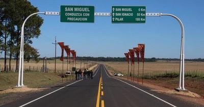Gobierno inauguró nuevo tramo asfaltado en Misiones
