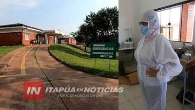 ENFERMERÍA NECESITA MÁS EQUIPOS DE PROTECCIÓN.