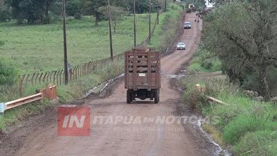 PROYECTAN ASFALTAR VARIOS CAMINOS INTERDISTRITALES EN ITAPÚA