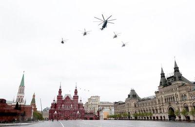 Simbólica celebración rusa de la victoria sobre nazis