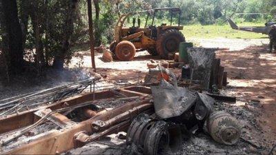 Ataque en Pedro Juan: Hallaron panfletos y no hubo secuestro