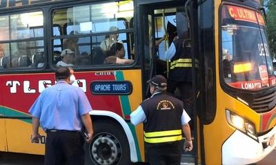 Dinatran confirma suspensión de servicios de buses de corta y larga distancia del 14 al 17
