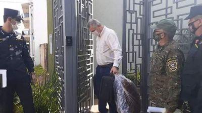 Acevedo fue trasladado a un destacamento militar en Concepción