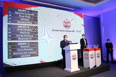 APF eSports: Están definidos los grupos del primer torneo virtual del fútbol paraguayo