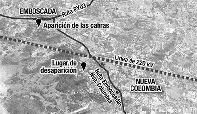 Línea de 220 kV retrasa investigación de la desaparición de la niña Juliette