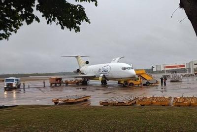 """HOY / Celeste Amarilla: """"Estoy camino para la verificación del cargamento del avión carguero"""""""