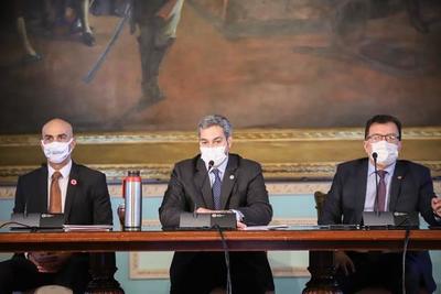 Gobierno entregó aportes a Salud Pública y a las gobernaciones de Caazapá, Itapúa y Paraguarí