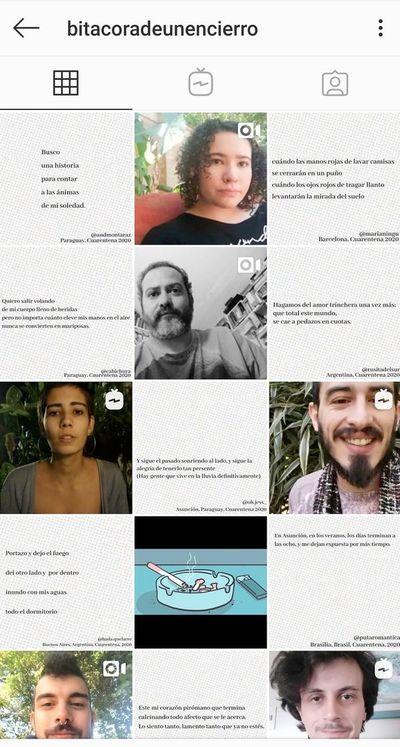 """""""Anti martes de poesía"""", a través del Instagram"""