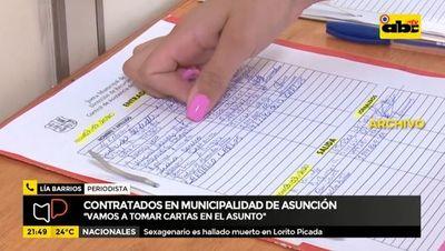 Contratados en Municipalidad de Asunción