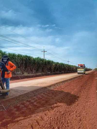 Pavimentación del tramo Santa Rosa del Monday-Línea ANDE beneficiará a 7.000 personas
