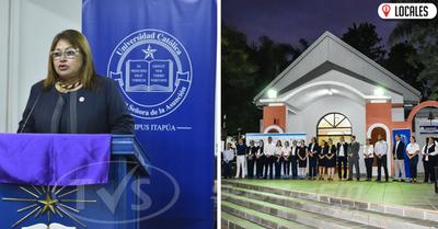 Universidad Católica Campus Itapúa celebra su 58 aniversario