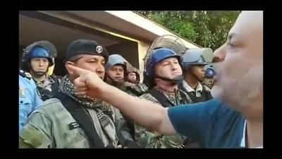 """""""Payo"""" Cubas convocó a una marcha pero nadie le siguió la corriente"""