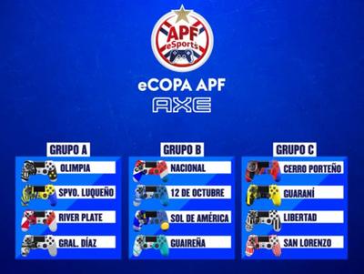 Se inicia una nueva era con el torneo eCopa APF