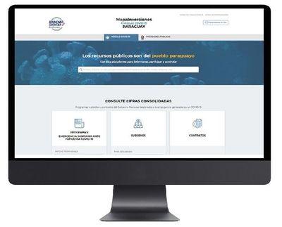 Actualizan portal de rendición de cuentas del Estado