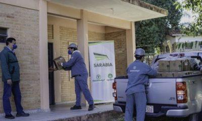 » Grupo Sarabia desplegó su acción solidaria en Villeta