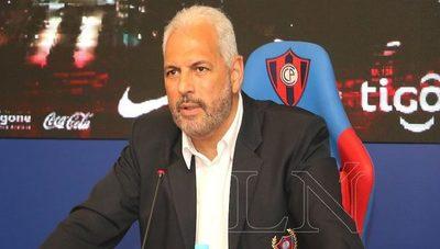 Zapag anuncia que dejará la dirigencia de Cerro