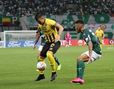"""Cristian Báez: """"Practico mucho los penales"""""""