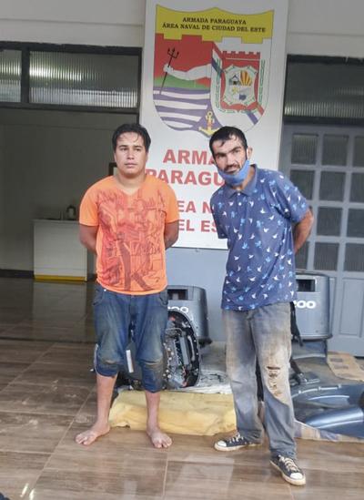 Intentaban cruzar el río Paraná a nado y fueron detenidos