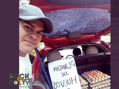 Sergio Rojas y su nueva faceta de comerciante